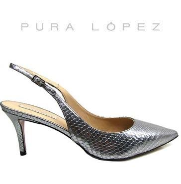 Pura Lopez Slinggpump