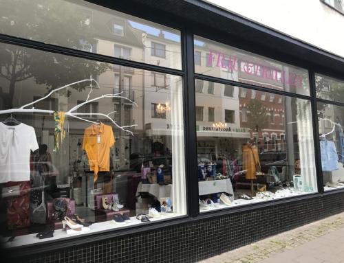 Die Benderstraße: Für einen Plausch ist immer Zeit
